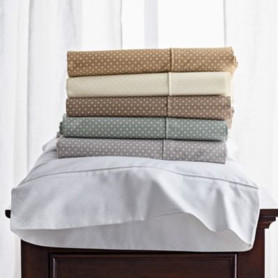 Charisma® Lexington Dot Fitted Sheets