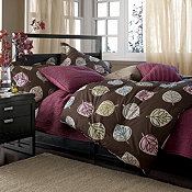 LoftHome by The Company Store™ Tossed Leaves Bedding