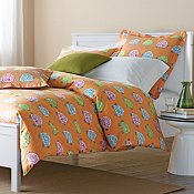 Turtle Crossing Percale Bedding