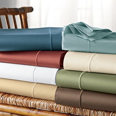 Classic Solid Sateen Fitted Sheet