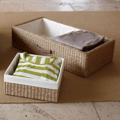 Under Bed Storage 3-piece set with Baskets
