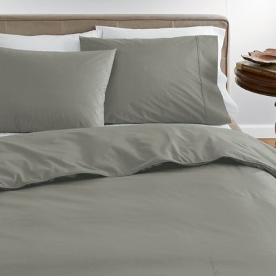 Company Organic Solid Duvet Cover