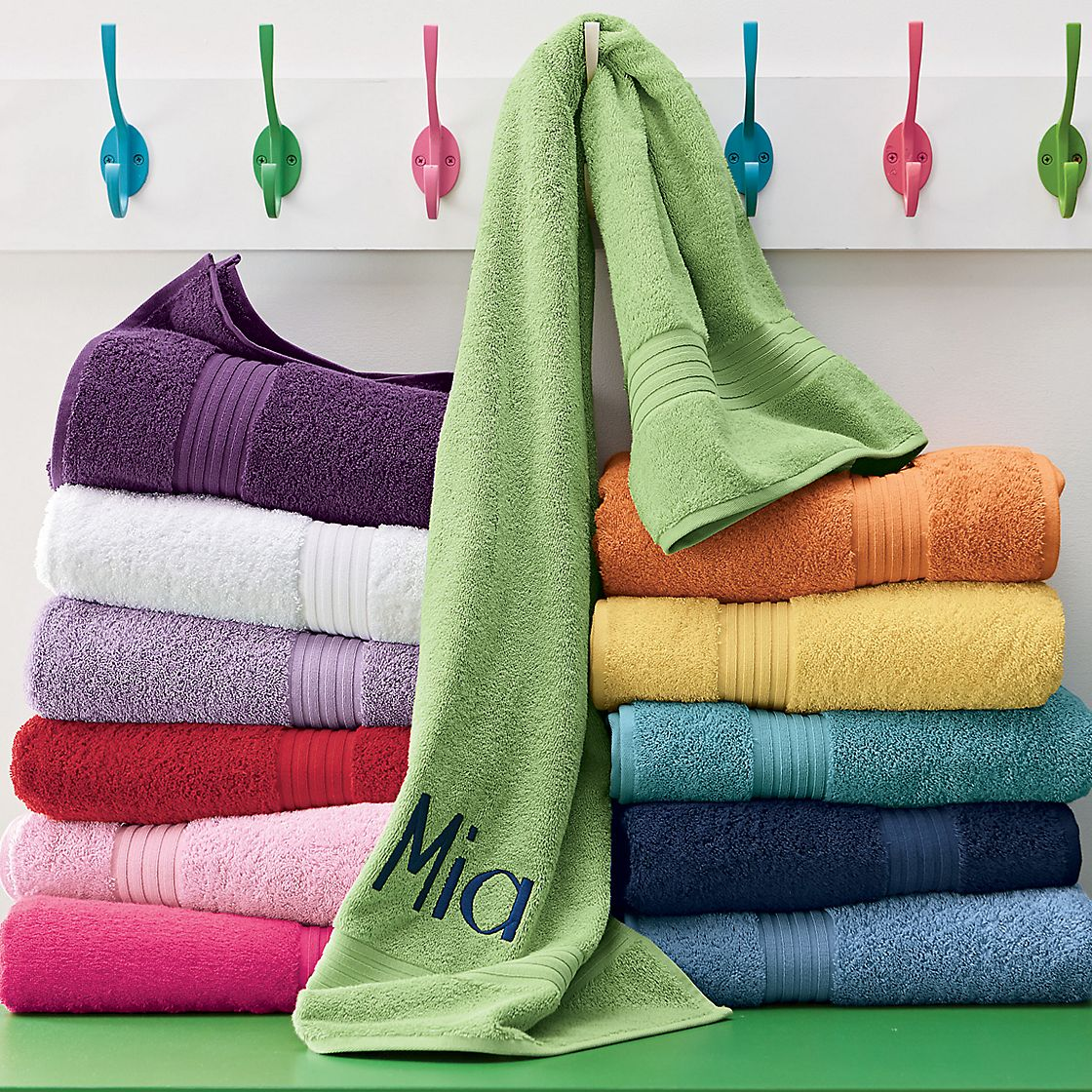 Towels from 3aaa.ml Update and organize your bathroom to reflect your own.