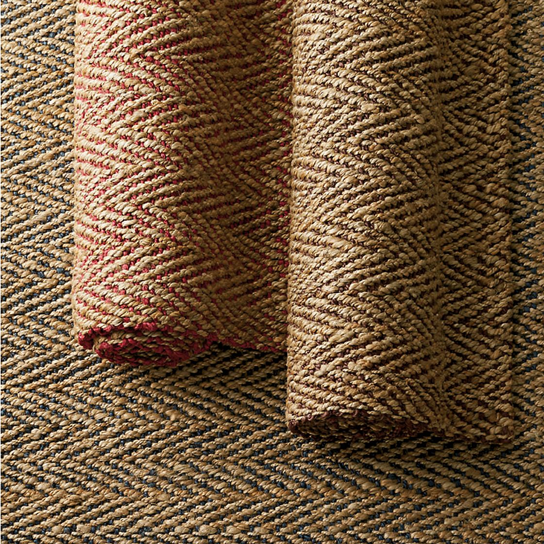 Herringbone Jute Rug The Company Store