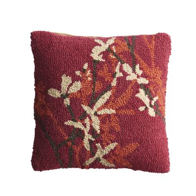 Hand-Hooked Pillow Covers – Shadow Vine