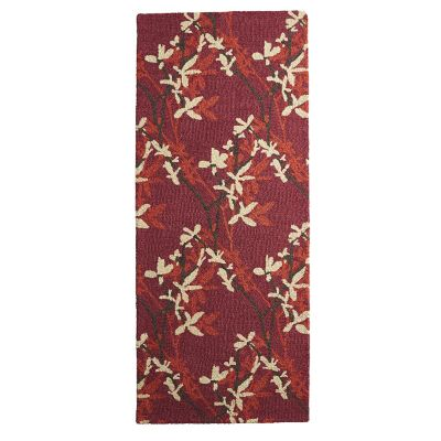 Hand-Hooked Wool Runners – Shadow Vine