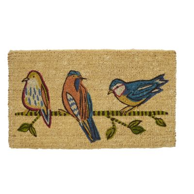 Spring Coir Mats – Perching Birds