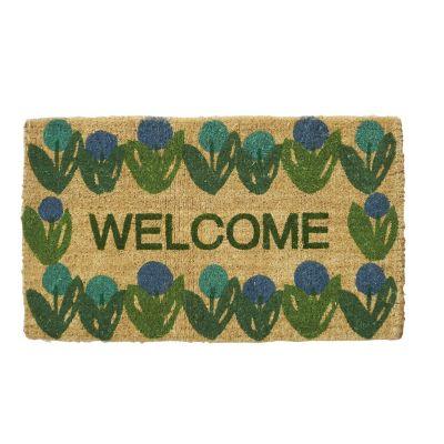 Spring Coir Mats – Welcome Flowers