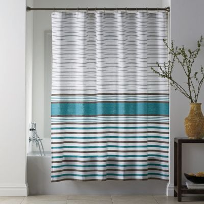 Winslow Stripe Shower Curtain