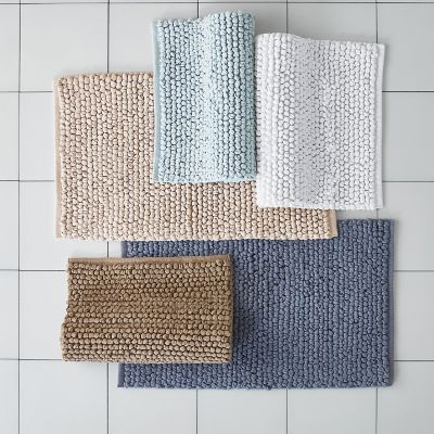 Cotton Twill Bath Rug