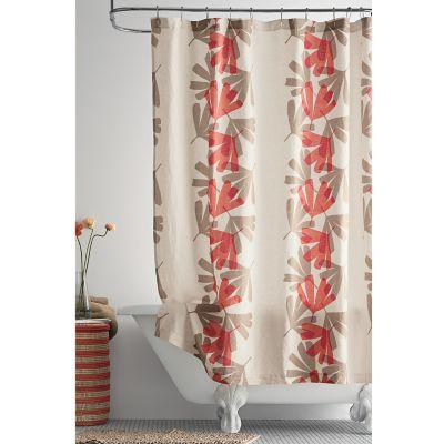 Biscayne Linen Shower Curtain