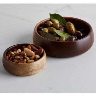 Wooden Bowls, Set of 2