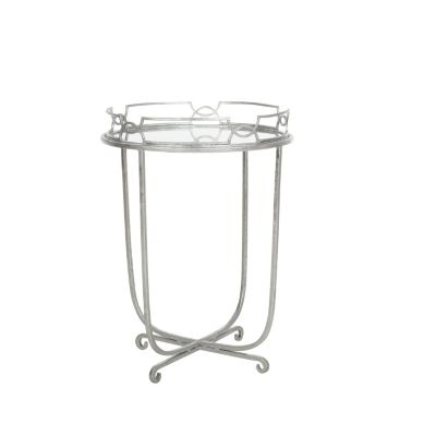 Silver Addison Tray Table