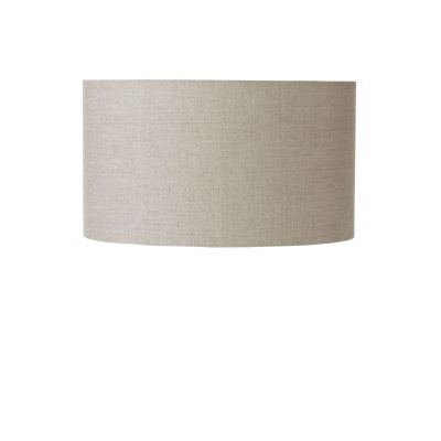 Faux Linen Drum Lamp Shade