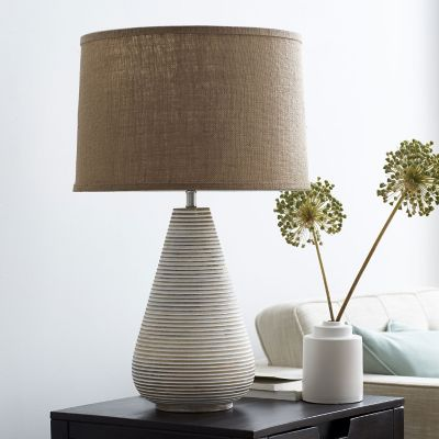 Ludlow Ribbed Table Lamp