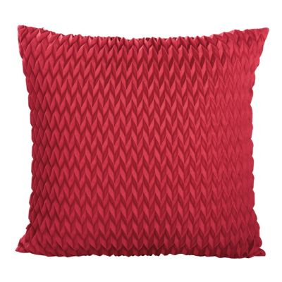 Flame Pleated Pillow Cover