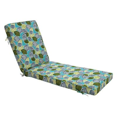 "Outdoor Chaise Lounge Cushion Deluxe (80x25x3"")"