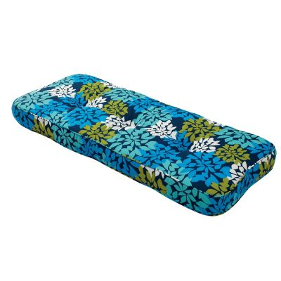 Outdoor Tufted Contour Settee Cushion (44x18x3