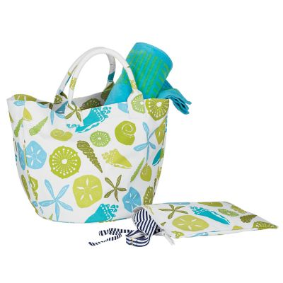 Printed Summer Tote – Shells