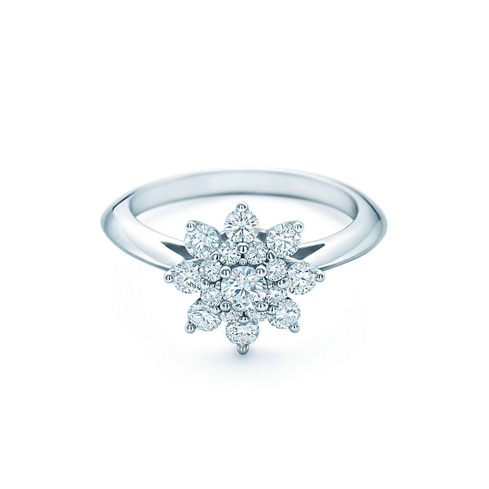 tiffany flower wedding rings tiffany