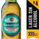 Kunstman 4 Pack Long Neck Sin Alcohol