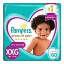 Panal Premium Care  Pampers Xxg