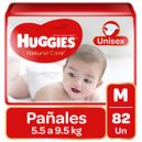 Pañal Bebe Natural Care Niño M