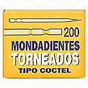 Mondadientes de Madera Tipo Cocktail  200 Un