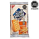 Galleta club social integral x 6 und