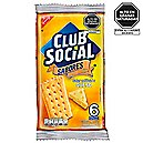 Galleta club social queso x 6 und