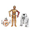 Packs Droides BB-8 / C-3PO / RO-LO