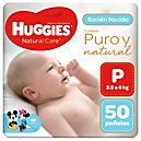 Pañal Unisex P Huggies Natural Care