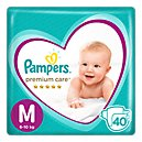 Pampers Premium Care Pañales Desechables M 40 Und