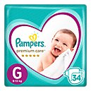Pampers Premium Care Pañales Desechables G 34 Und