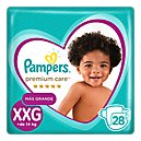 Pampers Premium Care Pañales Desechables XXG