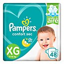 Pampers Confort Sec Pañales Desechables XG