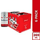 Cerveza Budweiser King Of Beers Lata 269Ml Cajx6