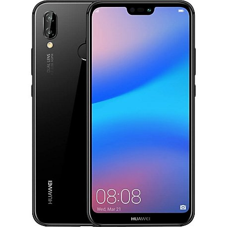 Smartphone P20 LITE DS , 5.8 Pulg, Octacore 1.7G , 4GB, 16MP Black