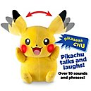 Pikachu Plush Feat