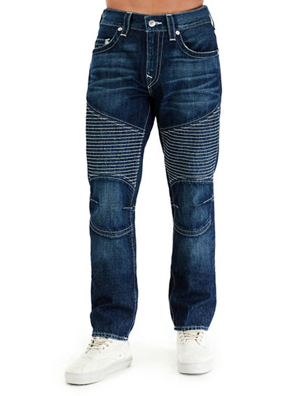 MOTO SLIM NATURAL MENS JEAN