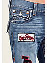 STRAIGHT FLAP PATCH MENS JEAN