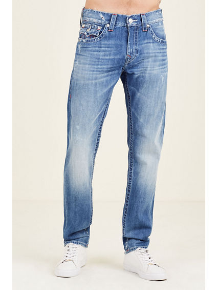 SKINNY FLAP NAT MENS JEAN