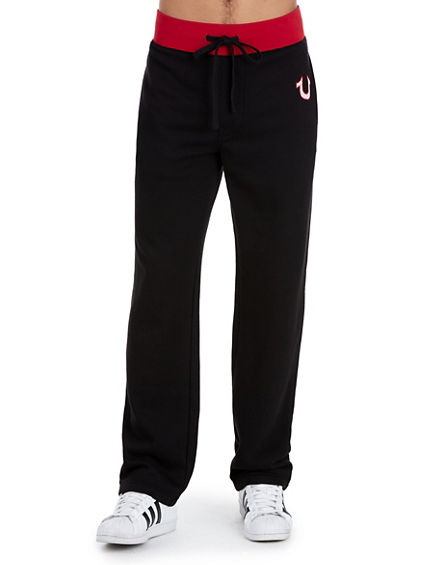 MESH STRAIGHT MENS SWEATPANT