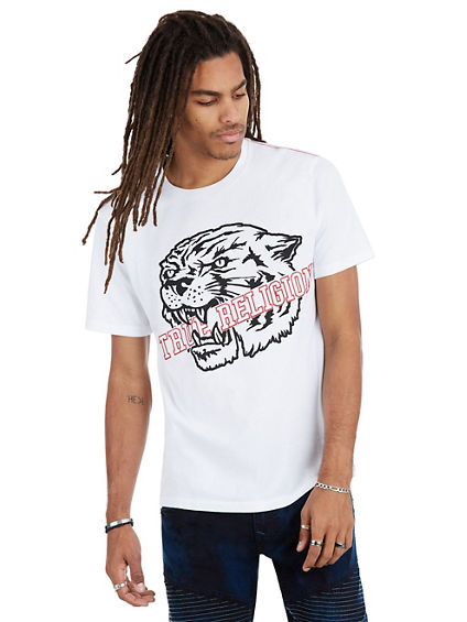 GRIP TIGER CREW NECK MENS TEE