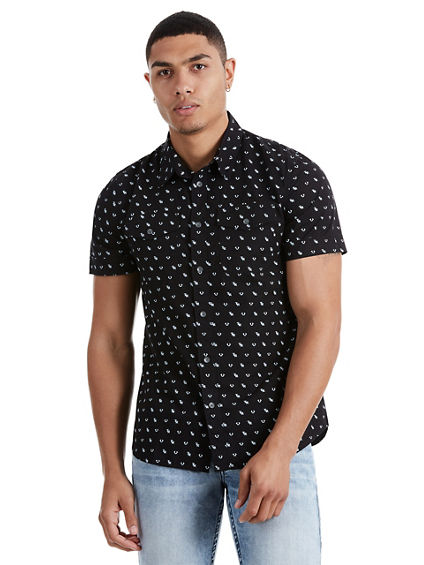 MONOGRAM UTILITY MENS SHIRT