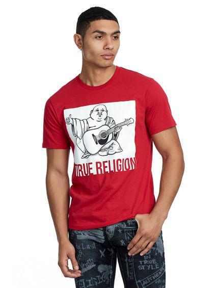 TRUE RELIGION PORTRAIT CREW NECK TEE