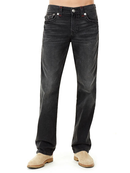 RICKY STRAIGHT W/FLAP  SUPER T MENS JEAN