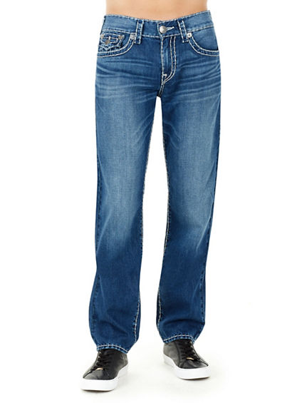 GENO SLIM W/ FLAP SUPER T MENS JEAN