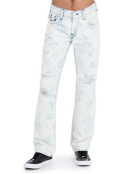 STRAIGHT FIT MIDNIGHT STITCH JEAN