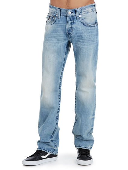 STRAIGHT MIDNIGHT STITCH MENS JEAN
